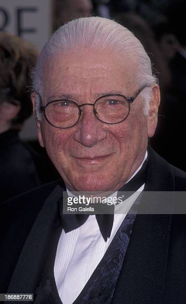 Michael Nyman attends 58th Annual Golden Globe Awards on January 18 1998 at the Beverly Hilton Hotel in Beverly Hills California