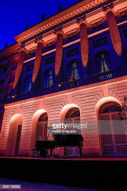 Michael Nyman performs at Piano City 2016 on May 20 2016 in Milan Italy