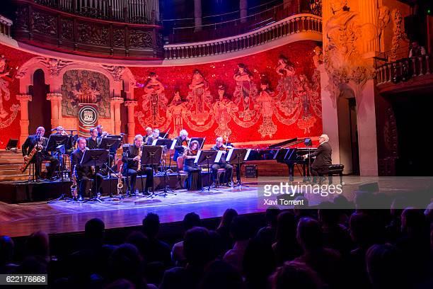 Michael Nyman performs on stage at Palau de la Musica Catalana during the 48 VollDamm Festival Internacional de Jazz de Barcelona on November 10 2016...