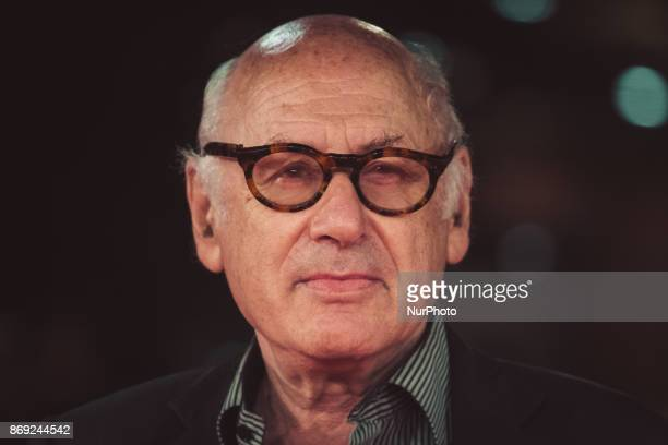 Michael Nyman walks a red carpet during the 12th Rome Film Fest at Auditorium Parco Della Musica on November 1 2017 in Rome Italy