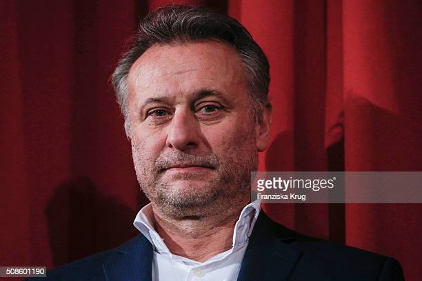 Michael Nyqvist attends the 'Colonia Dignidad Es gibt kein zurueck' Berlin Premiere on February 5 2016 in Berlin Germany