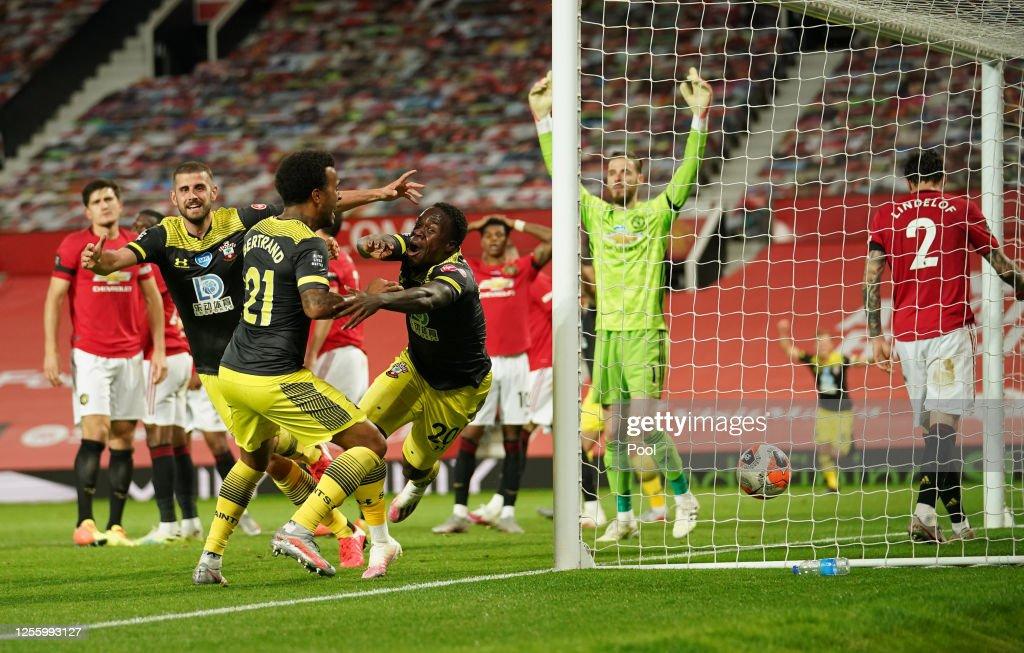 Manchester United v Southampton FC - Premier League : ニュース写真