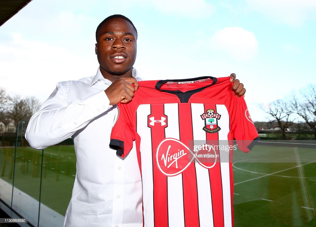 GBR: Michael Obafemi Signs New Contract At Southampton FC