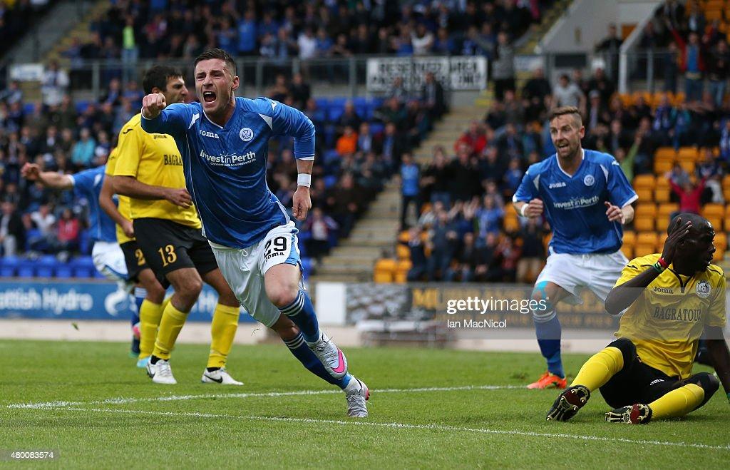St Johnstone v Alashkert FC : UEFA Europa League 1st Qualifying Round - 2nd Leg : News Photo