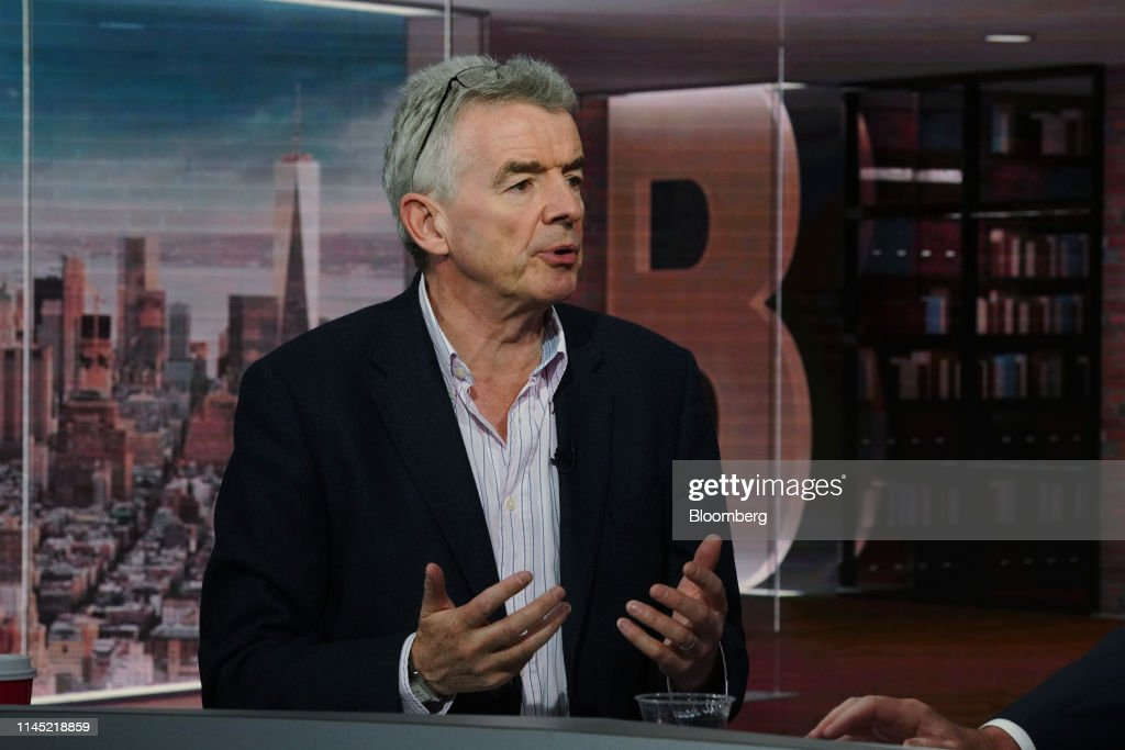 NY: Ryanair Holdings Plc Chief Executive Officer Michael O'Leary Interview