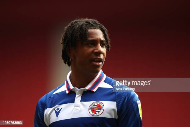 Michael Olise of Reading during the Sky Bet Championship match between Middlesbrough and Reading at Riverside Stadium on October 17 2020 in...