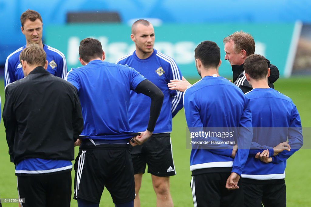 Northern Ireland - Training Session