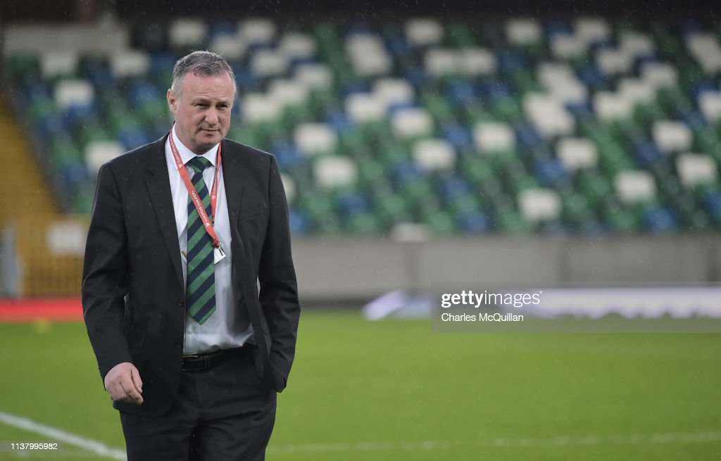 Northern Ireland v Belarus - UEFA EURO 2020 Qualifier : News Photo
