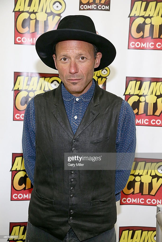 Michael Ornstein poses in between meeting with fans during the Alamo City Comic Con at Henry B. Gonzalez Convention Center on September 12, 2015 in San Antonio, Texas.