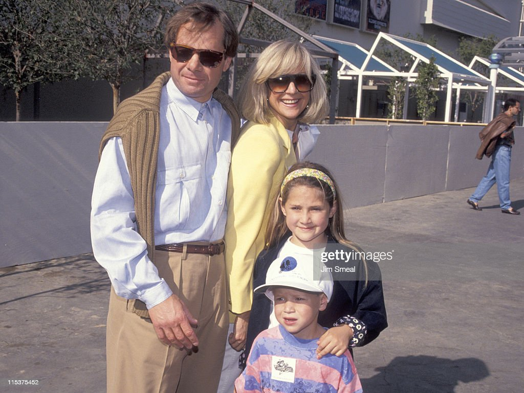 Michael Ovitz and Family during Opening of Universal Studios New ET Adventures Ride at Universal Studios in Universal City, California, United States.
