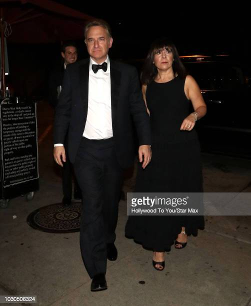 Michael Ovitz and Judy Ovitz are seen on September 9 2018 in Los Angeles California