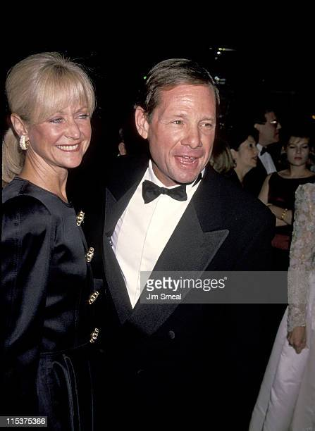 Michael Ovitz and Judy Ovitz during Weizmann Institute Of Science Dinner Honors Steven Spielberg at Beverly Hilton Hotel in Beverly Hills California...