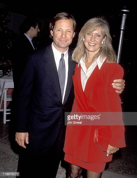 Michael Ovitz and wife during 'Avalon' Premiere at Cineplex Odeon Theater in Century City California United States