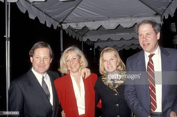 Michael Ovitz Jane Eisner Judy Ovitz and Michael Eisner