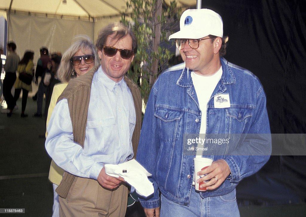 Michael Ovitz, Judy Ovitz, and Charles Fleischer during Opening of Universal Studios New ET Adventures Ride at Universal Studios in Universal City, California, United States.