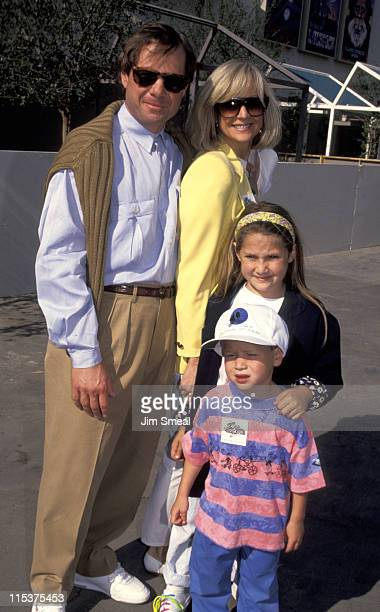Michael Ovitz Judy Ovitz and children during Opening of Universal Studios New ET Adventures Ride at Universal Studios in Universal City California...