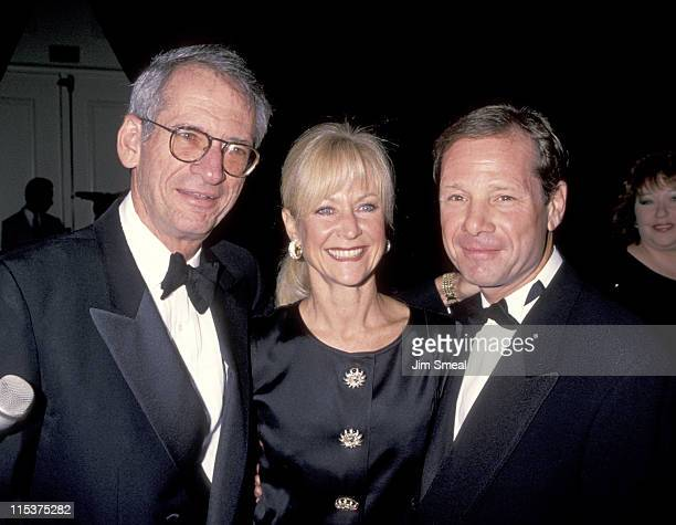 Michael Ovitz Judy Ovitz and Sid Sheinberg during Weizmann Institute Of Science Dinner Honors Steven Spielberg at Beverly Hilton Hotel in Beverly...