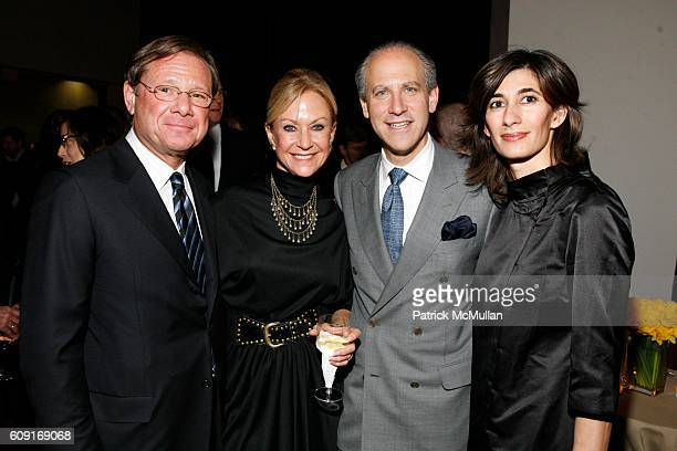 Michael Ovitz Judy Ovitz Glenn Lowry and Abaseh Mirvali attend Jeff Wall Exhibition Dinner at MoMa on February 20 2007 in New York City