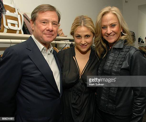 Michael Ovitz Kimberly Ovitz and Judy Ovitz attend the Kimberly Ovitz Trunk Show at Satine Boutique on March 12 2009 in Los Angeles California