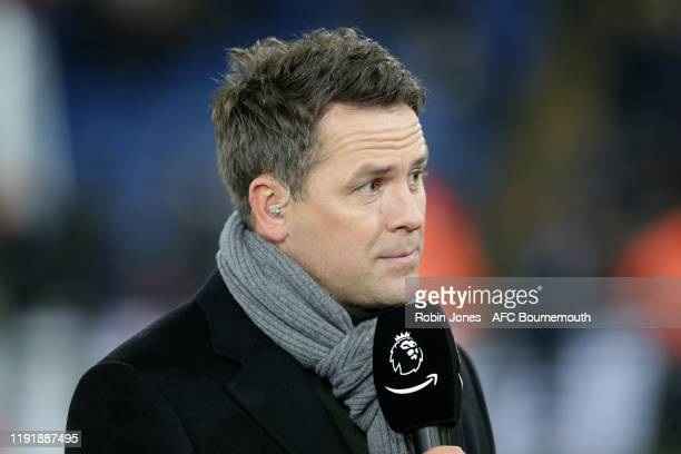 Michael Owen during Amazon Prime first live broadcast game before Premier League match between Crystal Palace and AFC Bournemouth at Selhurst Park on...
