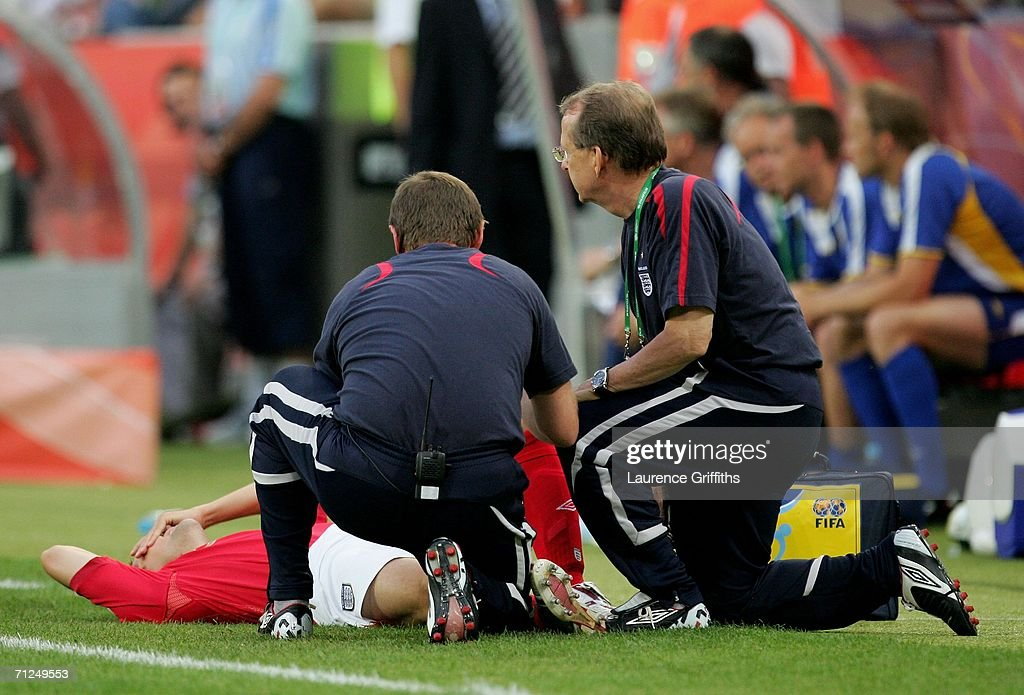 Group B Sweden v England - World Cup 2006 : News Photo