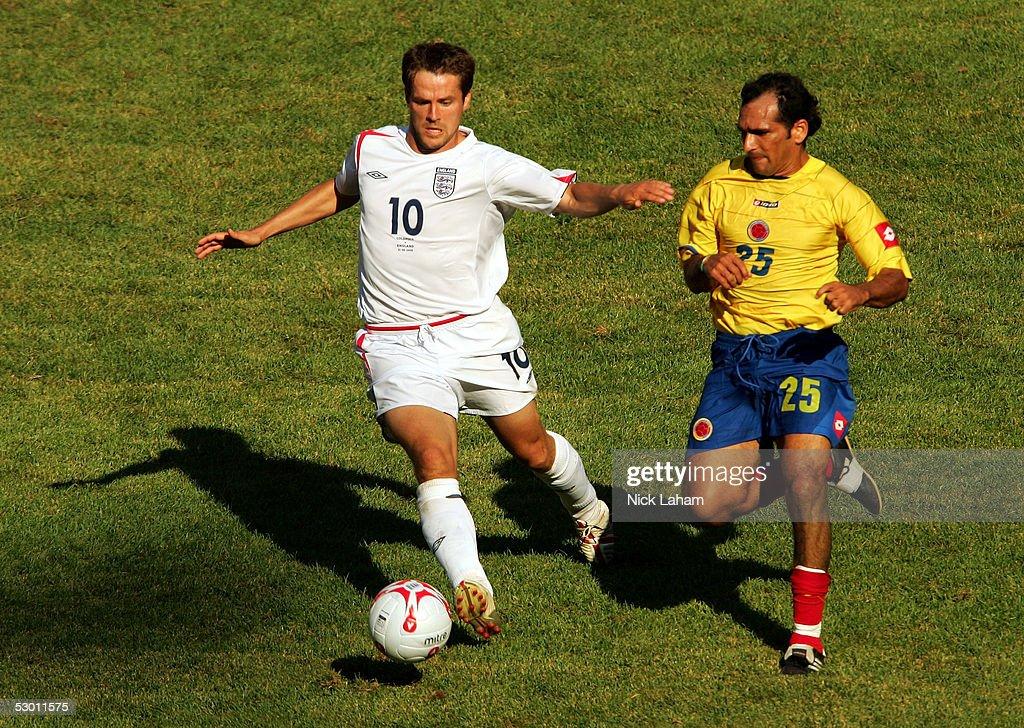 England v Columbia : News Photo