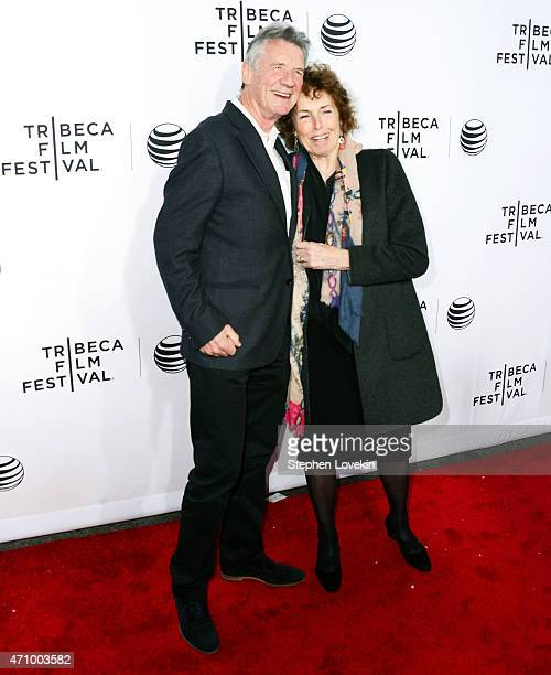 Michael Palin and Helen Palin attend the Monty Python And The Holy Grail Special Screening during the 2015 Tribeca Film Festival at Beacon Theatre on...