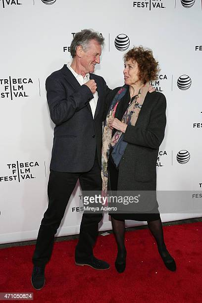 Michael Palin and Helen Palin attend the Special Screening Narrative Monty Python and the Holy Grail during the 2015 Tribeca Film Festival at Beacon...