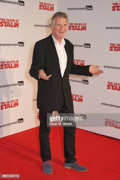 Michael Palin attends the UK Premiere of 'The Death Of Stalin' at The Curzon Chelsea on October 17 2017 in London England