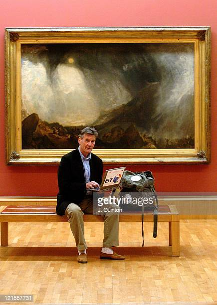 Michael Palin during Explore Tate Britain Press Launch at Tate Britain in London Great Britain