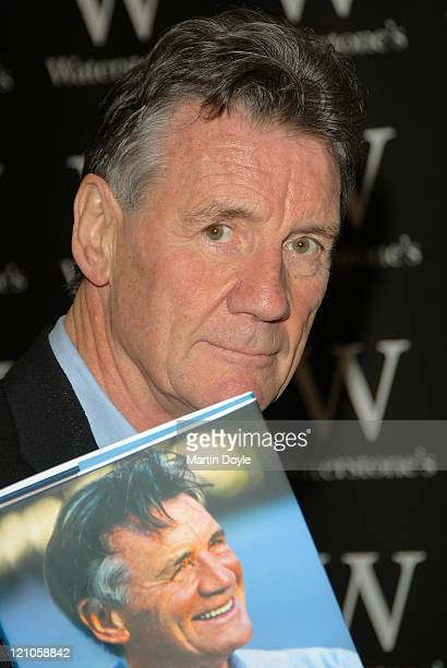 Michael Palin signs Copies of His New Book at Waterstone's on October 12 2007 in London