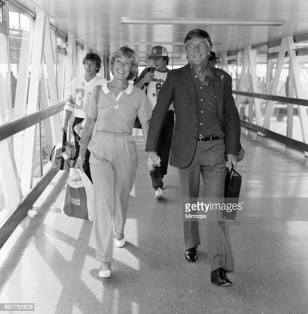 Michael Parkinson arrives at Heathrow with his wife Mary and sons Nicholas, Andrew and Michael. He has been in Australia for six months for a show,...