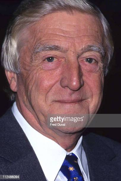 Michael Parkinson during BBC TV Winter Launch at London in London United Kingdom