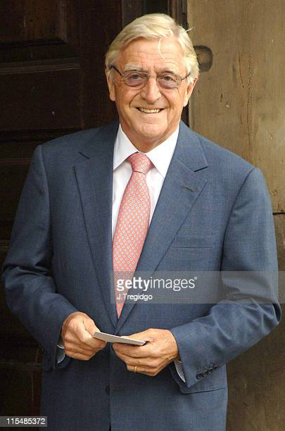 Michael Parkinson during Sir John Mills Memorial Service at St Martin in the Fields in London Great Britain