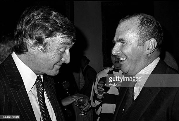 Michael Parkinson with Clive James October 1982