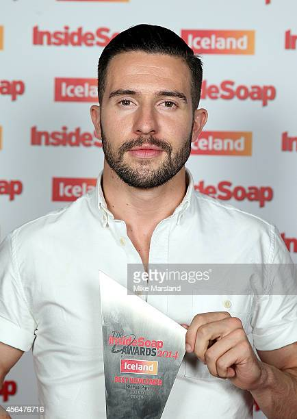 Michael Parr attends the Inside Soap Awards at Dstrkt on October 1 2014 in London England
