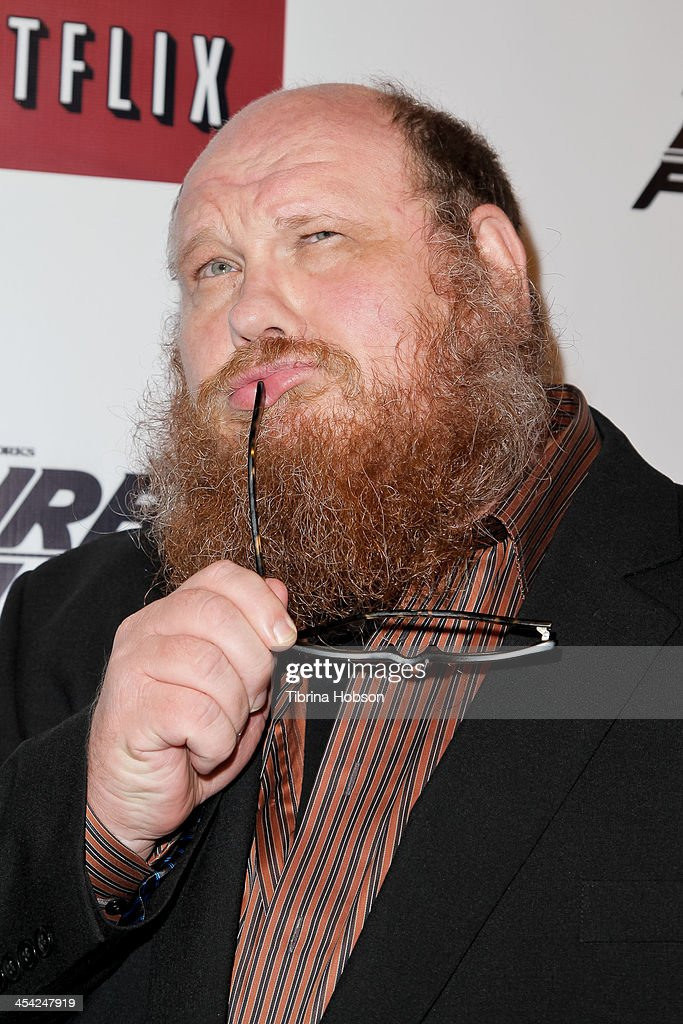 Michael Patrick Bell attends the DreamWorks Animation's 'Turbo FAST' premiere at 'The Lot' on December 7, 2013 in West Hollywood, California.