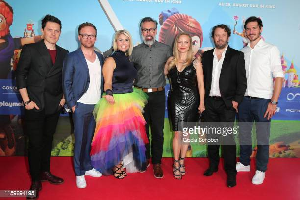 Michael Patrick Kelly Ralf Schmitz Beatrice Egli Director Lino DiSalvo and Regina Halmich Christian Ulmen and Felix Neureuther during the premiere of...