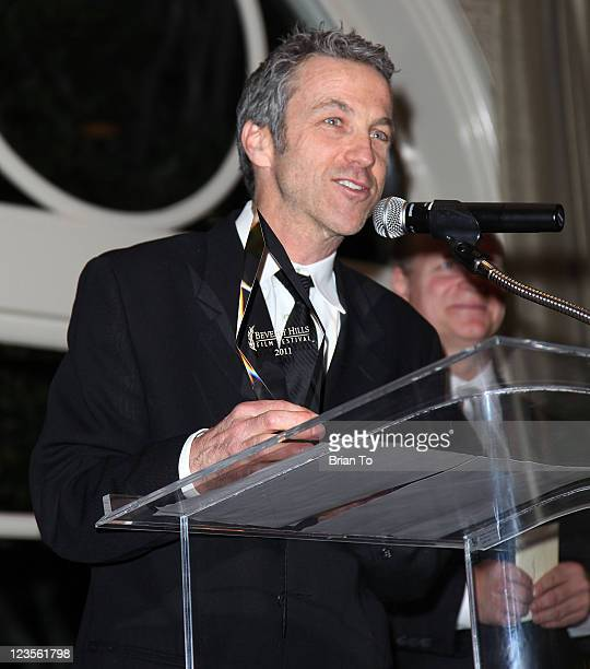 Michael Patrick O'Hara attends 11th annual international Beverly Hills Film awards gala on April 10 2011 in Beverly Hills California