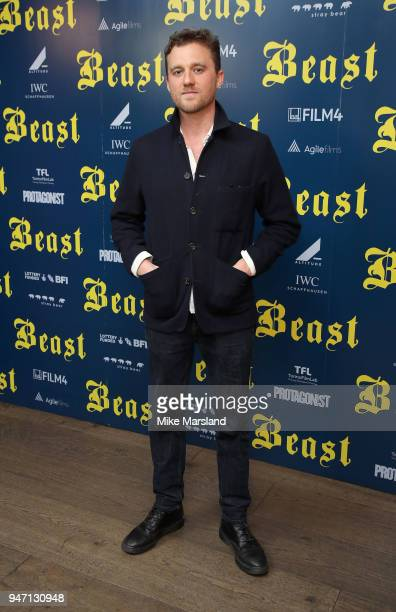Michael Pearce attends a special preview screening of 'Beast' at Ham Yard Hotel on April 16 2018 in London England