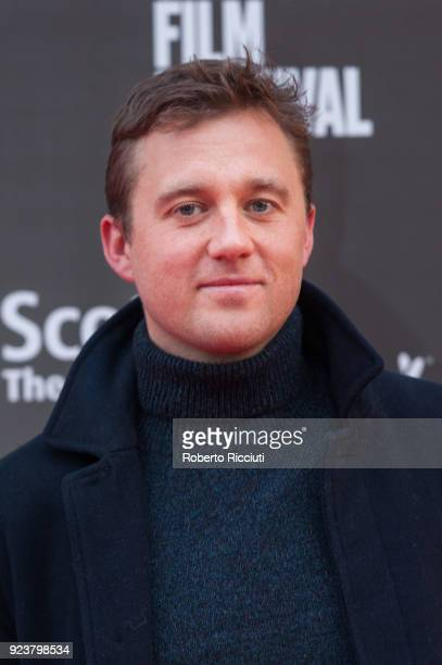 Michael Pearce attends the UK Premiere of 'Beast' during the 14th Glasgow Film Festival at Glasgow Film Theatre on February 24 2018 in Glasgow...
