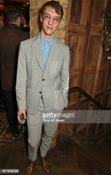 Michael Pegrum attends The Fashion Awards in partnership with Swarovski nominees' lunch hosted by the British Fashion Council with Grey Goose at...