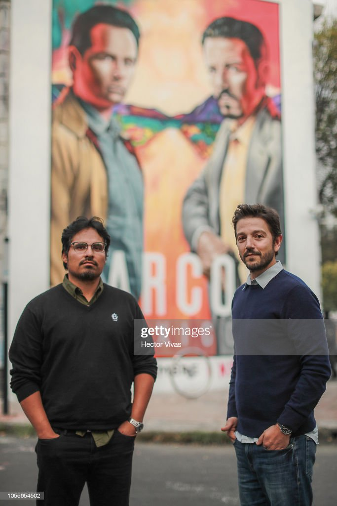 Netflix Narcos Unveils Mural : News Photo