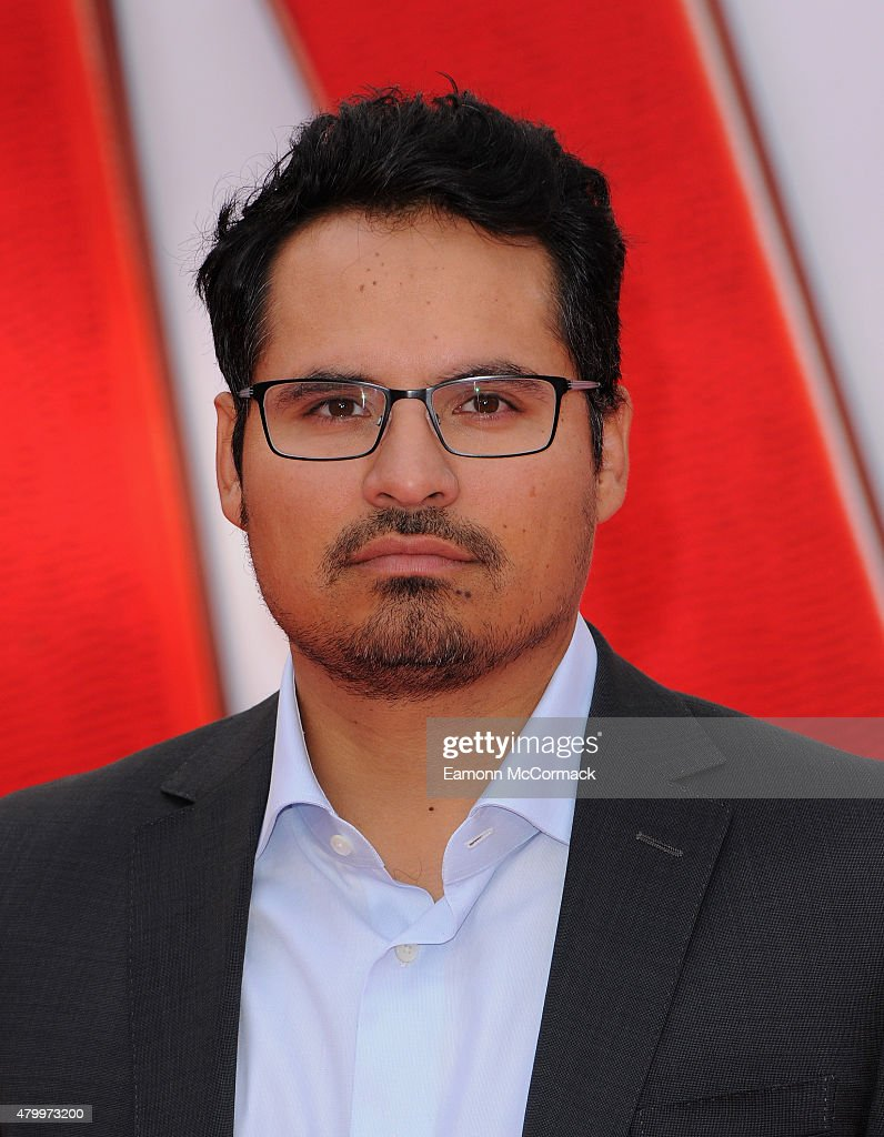 Michael Pena attends the European Premiere of Marvel's 'Ant-Man' at Odeon Leicester Square on July 8, 2015 in London, England.