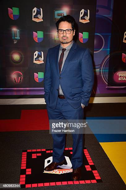 Michael Pena attends Univision's Premios Juventud 2015 at Bank United Center on July 16 2015 in Miami Florida