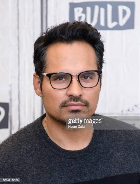 Michael Pena visits Build Series to discuss The Lego Ninjago Movie at Build Studio on September 20 2017 in New York City