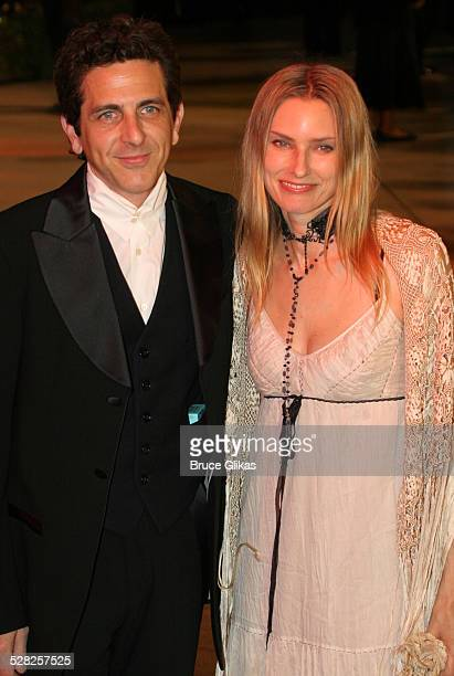 Michael Penn and Aimee Mann during 2006 Vanity Fair Oscar Party at Morton's in West Hollywood California United States
