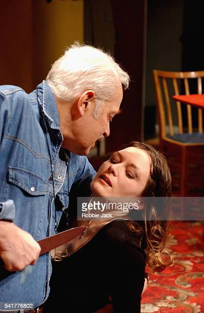 """Michael Pennington and Catherine McCormack in the production """"When The Night Begins"""" at the Hampstead Theatre London."""