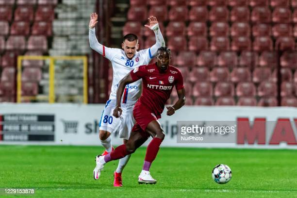Michael Pereira in action during the 7th game in the Romania League 1 between CFR Cluj and FC Botosani, at Dr.-Constantin-Radulescu-Stadium,...