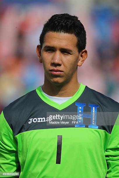 Michael Perello of Honduras looks on before the FIFA U17 World Cup Chile 2015 group D match between Belgium and Honduras at Estadio Fiscal on October...